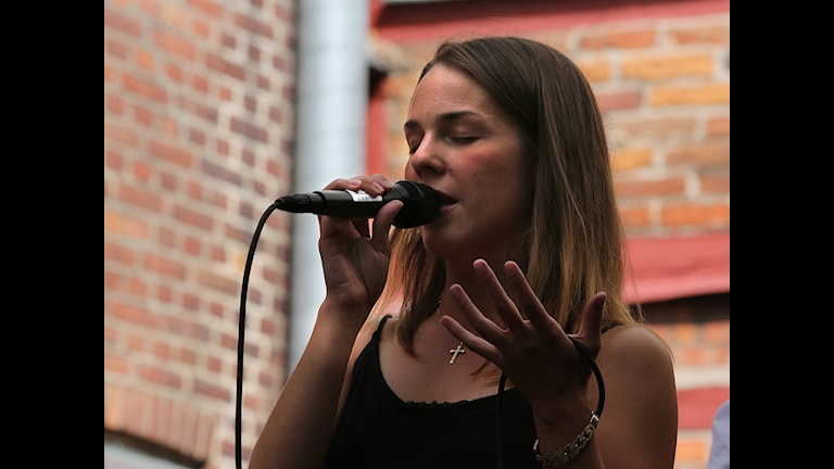 Isabella Lundgren vid Ystad Sweden Jazzfestival