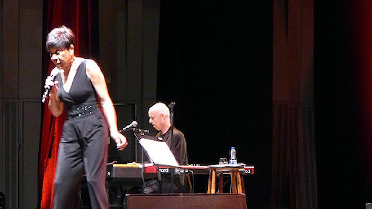 Bettye Lavette på Uppsala Konsert & Kongress i mars 2015. Foto: Janne Lindvall/SR