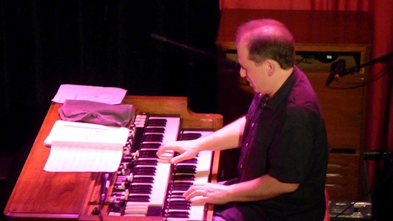 Larry Goldings på Fasching den 5 april 2015. Foto: Maurice Mogard/SR