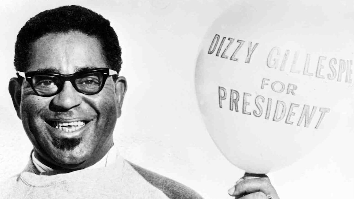Dizzy for president. Foto: Berry produktion AB/Arikv