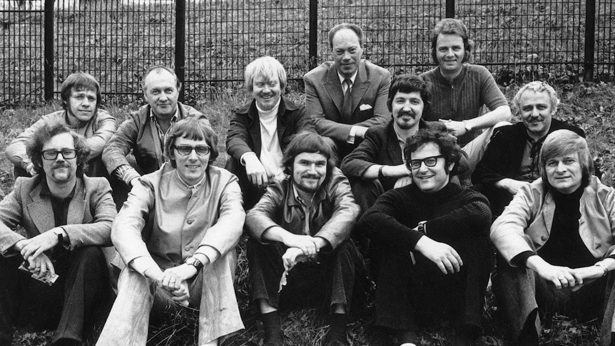 Radiojazzgruppen 1967. Foto: Lars Wiklund/SVT Bild