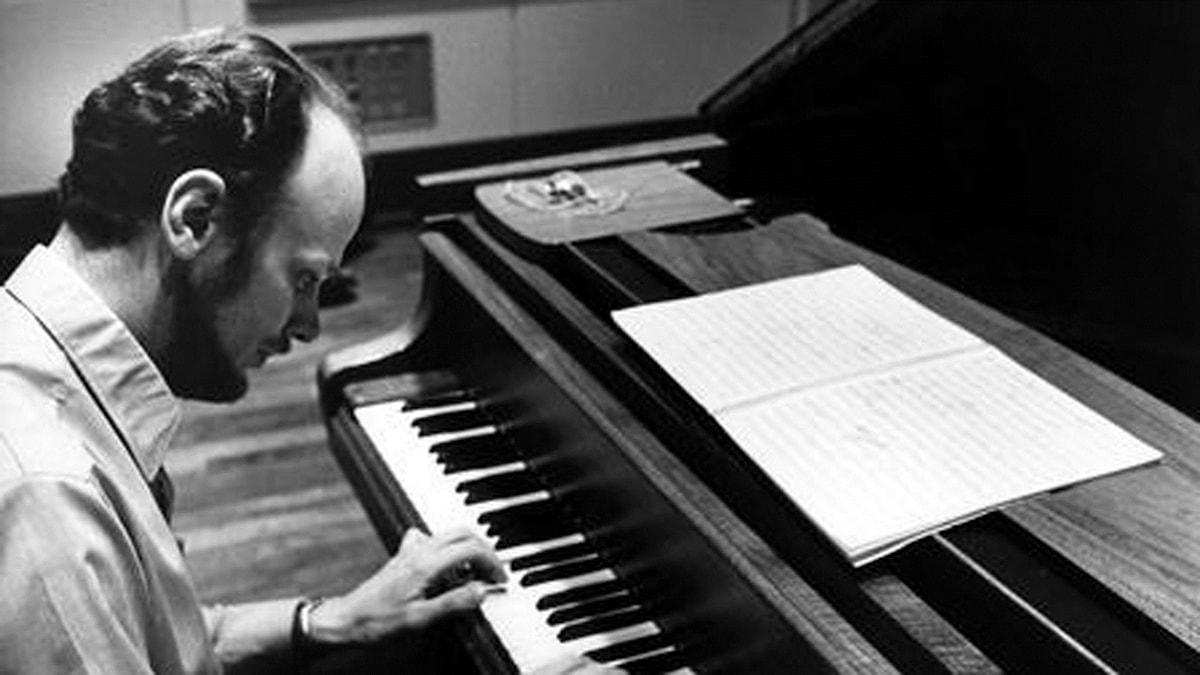 Pianisten Jan Johansson. Foto: Bo-Aje Mellin/SVT Bild
