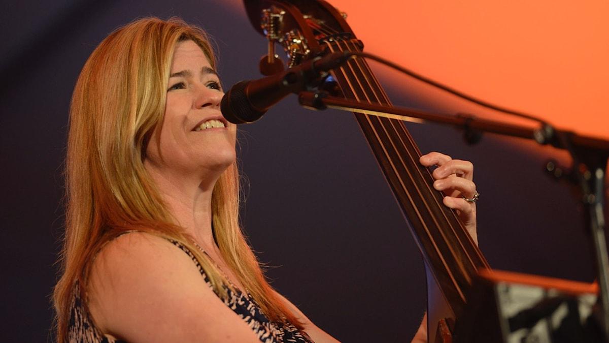 Kristin Korb på Bangen Jazz & Blues 2015. Foto: Kjell Oscarsson/SR