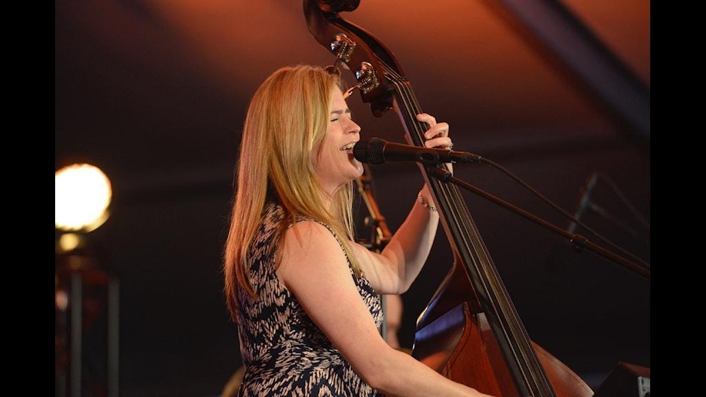 Kristin Korb Kristin Korb på Bangen Jazz & Blues 2015. Foto: Kjell Oscarsson