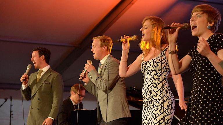 STOCKHOLM VOICES - BANGEN 2015. Foto: Kjell Oscarsson SR