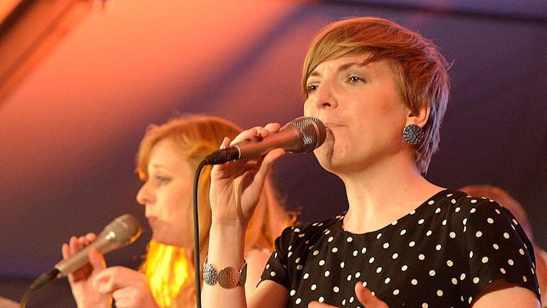 Gunilla Törnfeldt. Foto: Kjell Oscarsson/Sveriges Radio