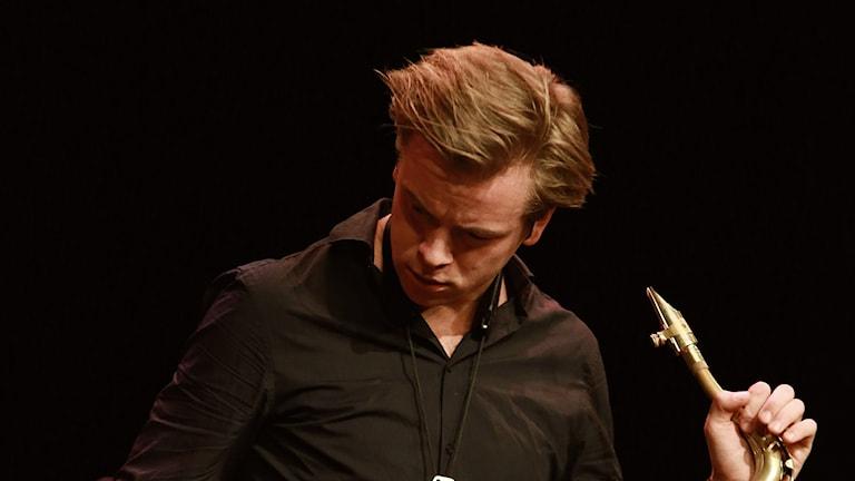 Marius Neset i Ystad 1 augusti 2015. Foto: Markus Fägersten/YSJF