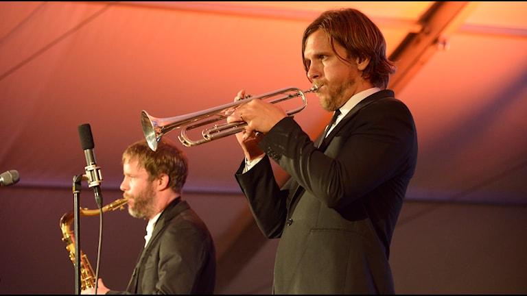 Ecaroh, Nils Janson & Björn Jansson, Bangen 2015. Foto Kjell Oscarsson SR
