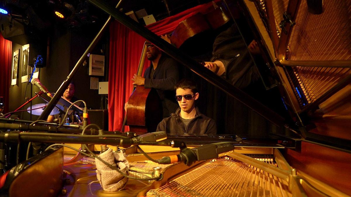 Justin Kauflin Trio på Fasching 8 oktober 2015. Foto: Maurice Mogard/Sveriges Radio