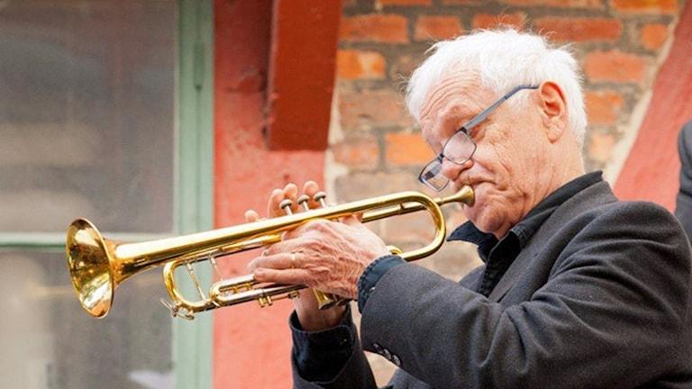 Jan Allan på Ystad Sweden Jazz Festival juli 2015. Foto: Johannes Lundberg / Sveriges Radio