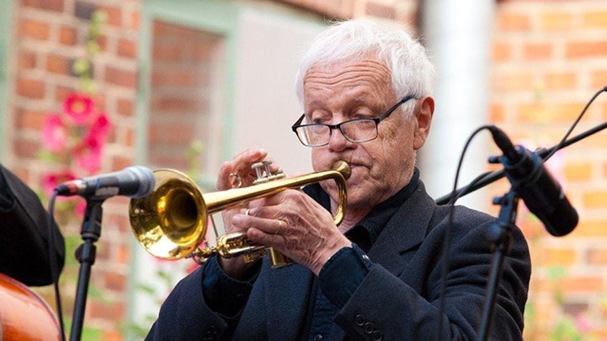 Jan Alla i vid Ystad Sweden Jazz Festival i juli 2015. Foto: Johannes Lundberg / Sveriges Radio