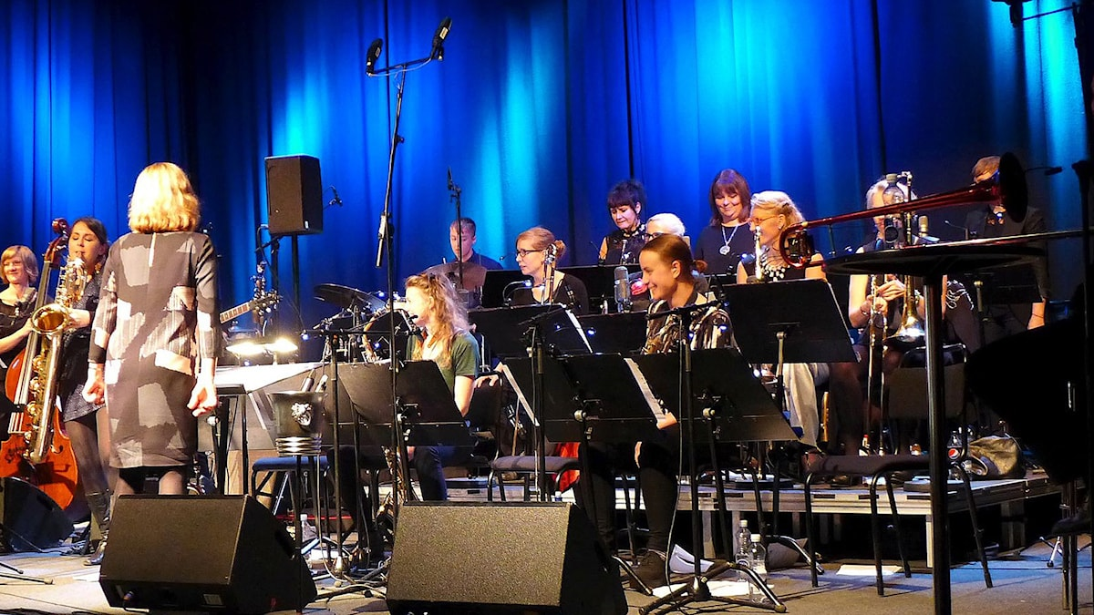 Jazz Baltica Big Band vid Stockholm Jazzfestival 2015