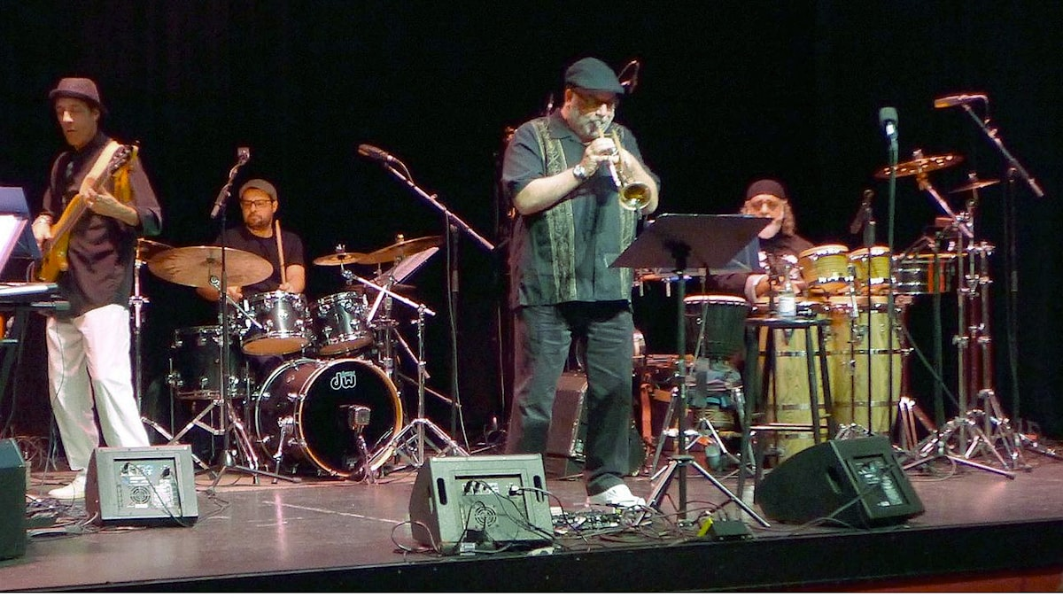Balaio & Randy Brecker på Scalateatern i Stockholm november 2016.