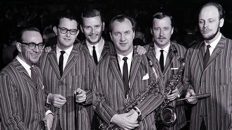 Arne Domnérus med band 1964