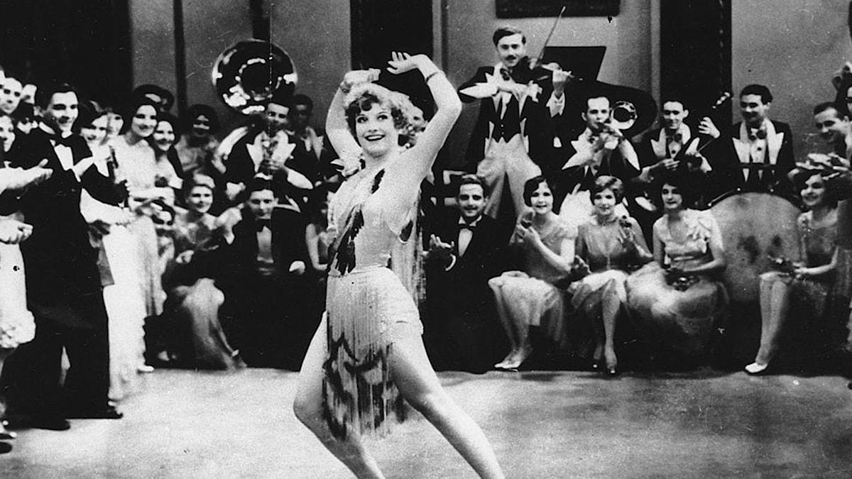 Joan Crawford i stumfilm 1928