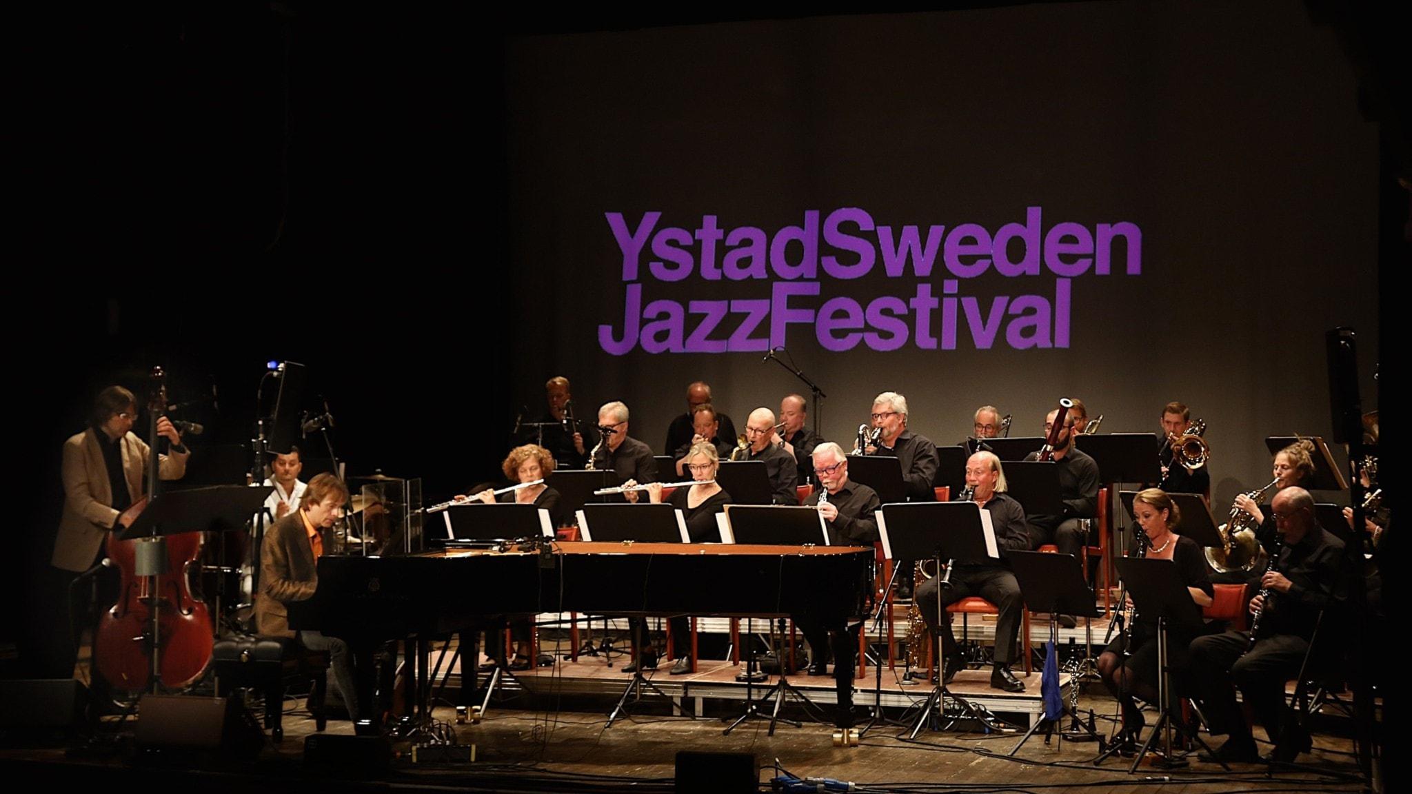 KONSERT: Jan Lundgren trio och Göteborg Wind Orchestra