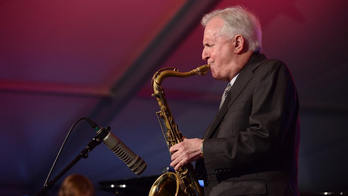 Saxofonisten Scott Hamilton