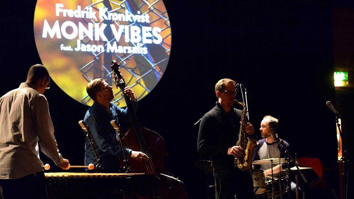 Kronkvist Marsalis - Monk Vibes på Studion Umeå Folkets Hus 17/3 2016