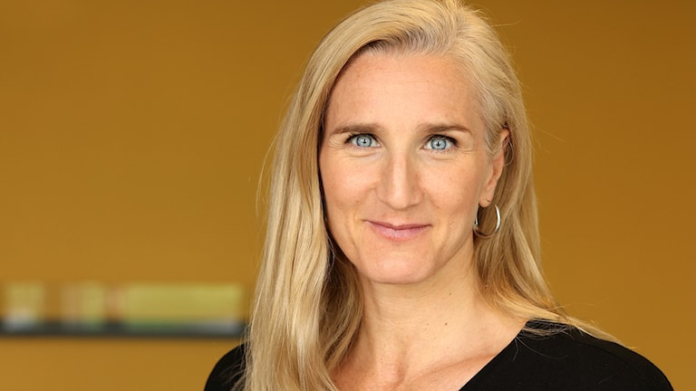 Trombonisten Karin Hammar