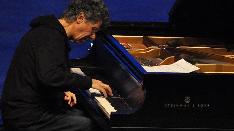 Konsert: Chick Corea solo på Fasching -99
