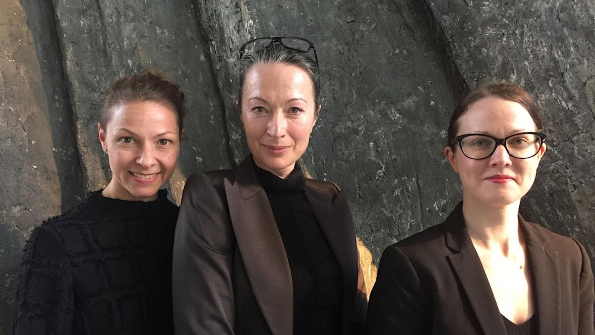 Helena Lopac, Marina Schiptjenko, Johanna Paulsson