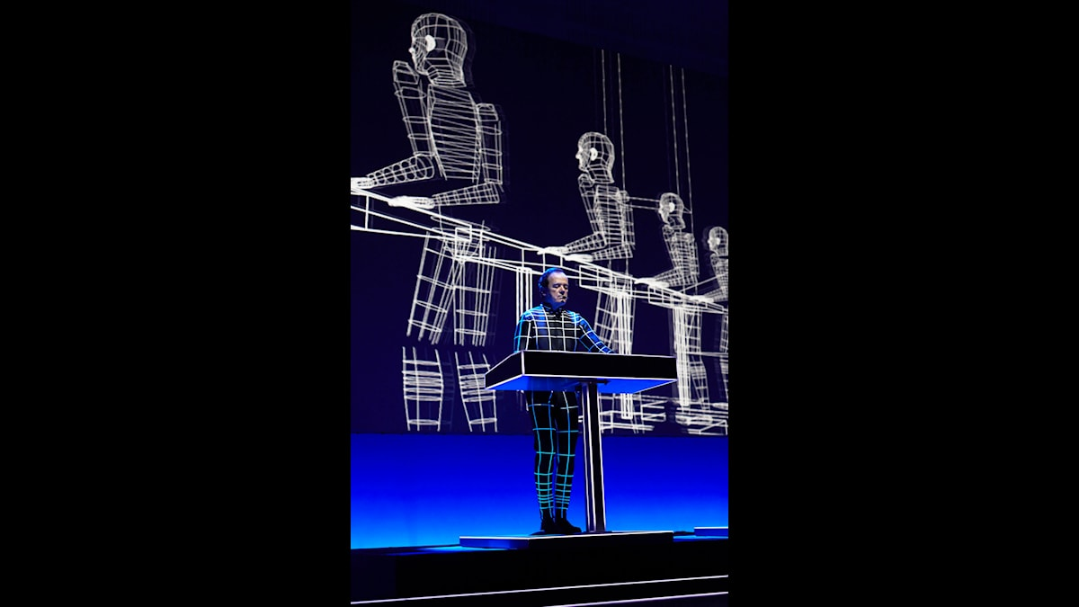 Kraftwerk live - Ralf Hütter