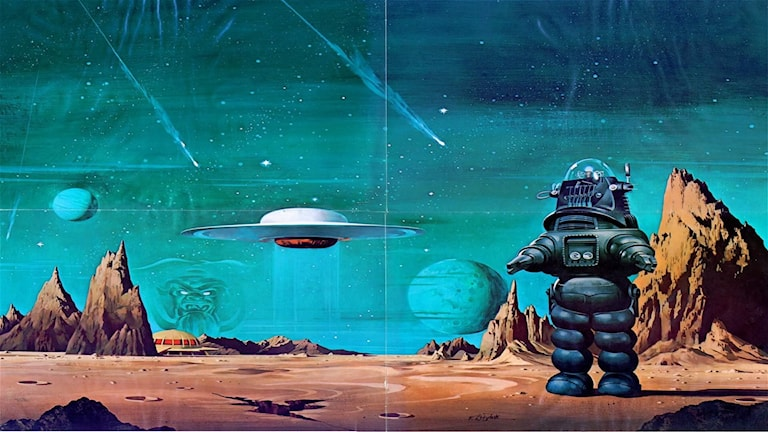Forbidden Planet, foto Metro-Goldwyn-Mayer