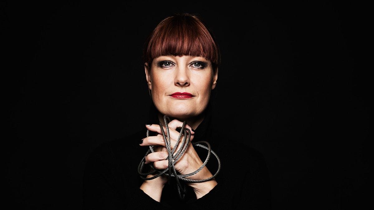 Lisa Wall. Foto: Mattias Ahlm/Sveriges Radio.