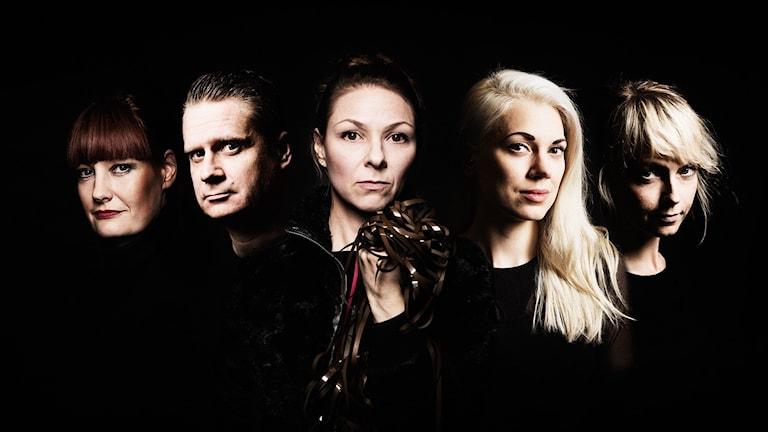 Redaktionen i Malmö: Lisa Wall, Erik Mikael Karlsson, Helena Lopac, Sandra Mickelsson och Johanna Olofsson.