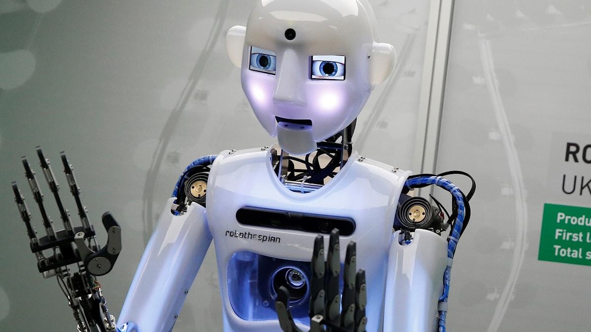 Brittisk robot
