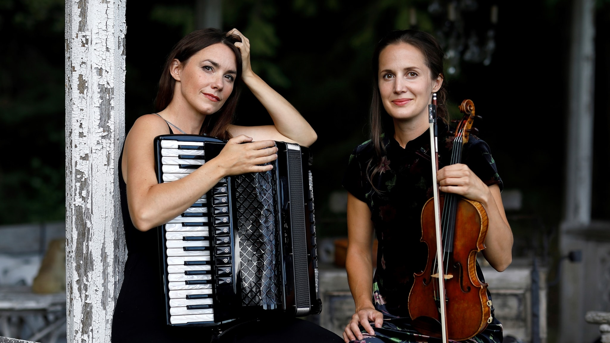 Bild: Duon Lisas med Lisa Långbacka och Lisa Rydberg.
