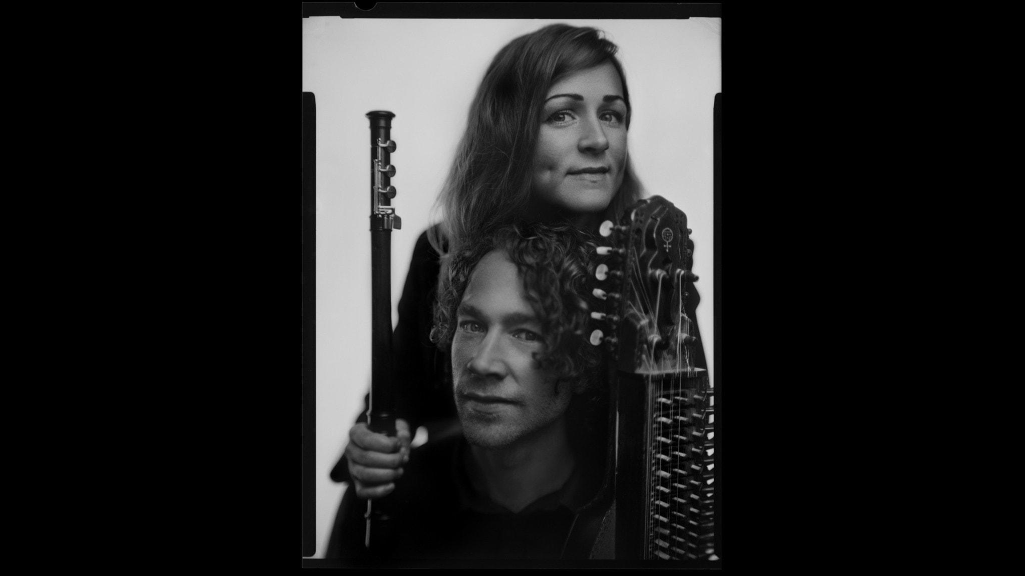 KONSERT: Bach på nyckelharpa med Duo West/Rydvall