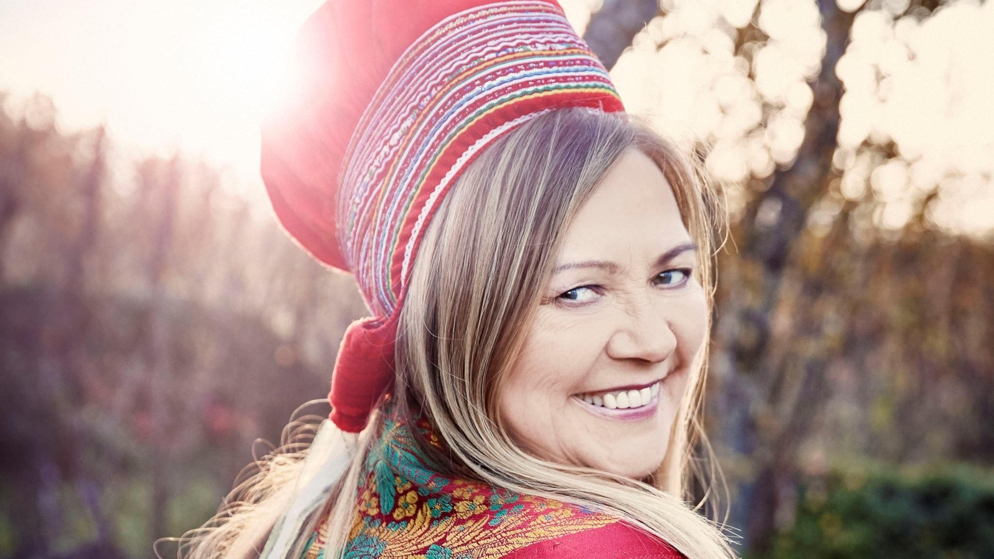 Samiska världsartisten Mari Boine