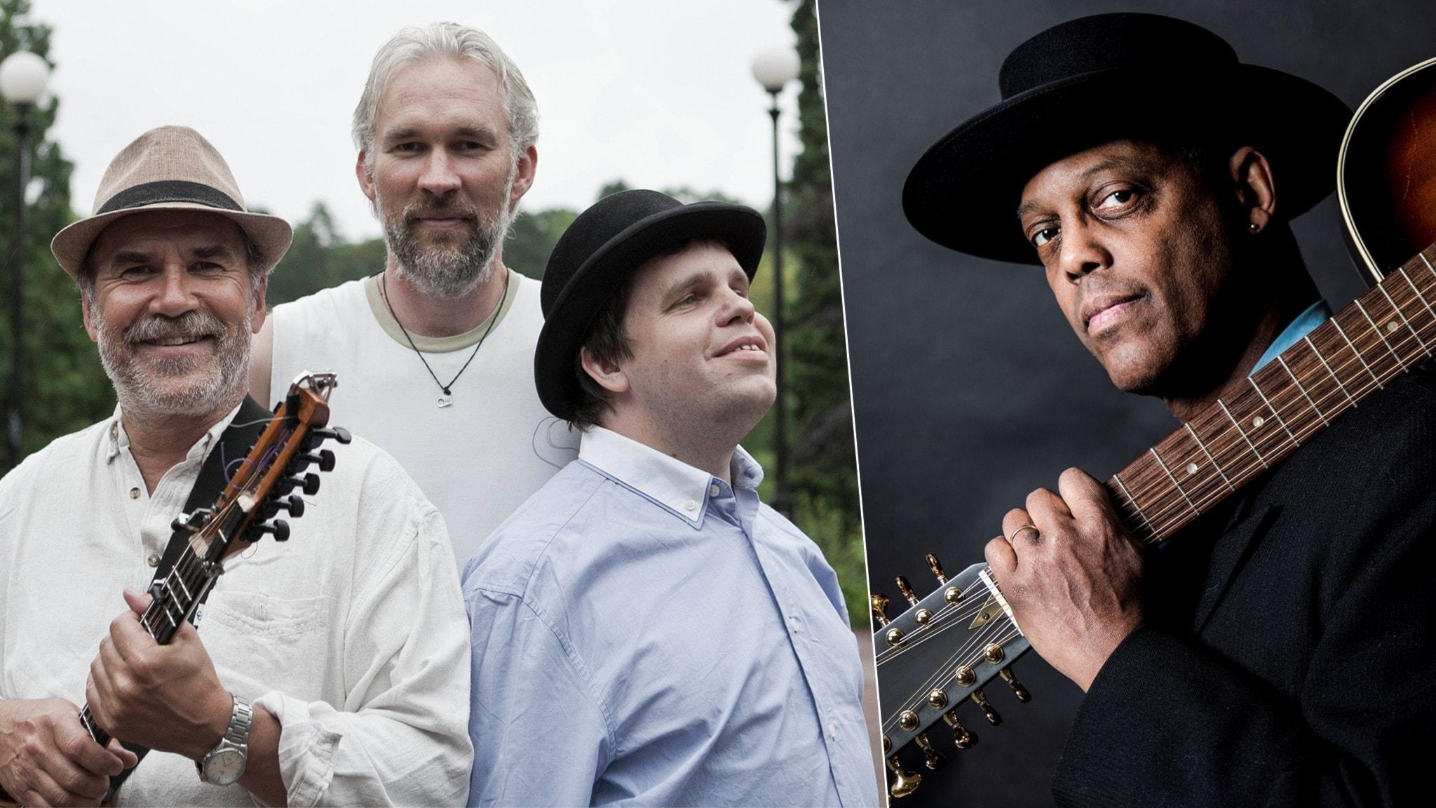 KONSERT: Ale Möller Trio med Eric Bibb