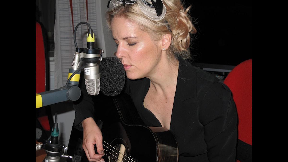 Sofia Karlsson. Foto: Marie Nilsson/Sveriges Radio