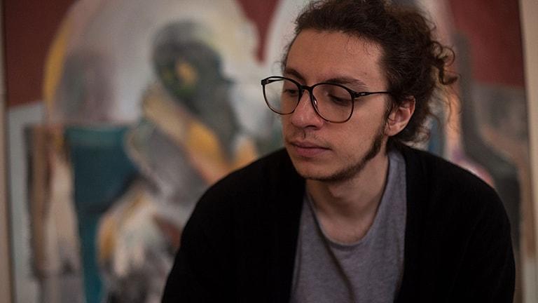 Samer Saem Eldahr eller Hello Psychaleppo. Foto: Lasse Edfast