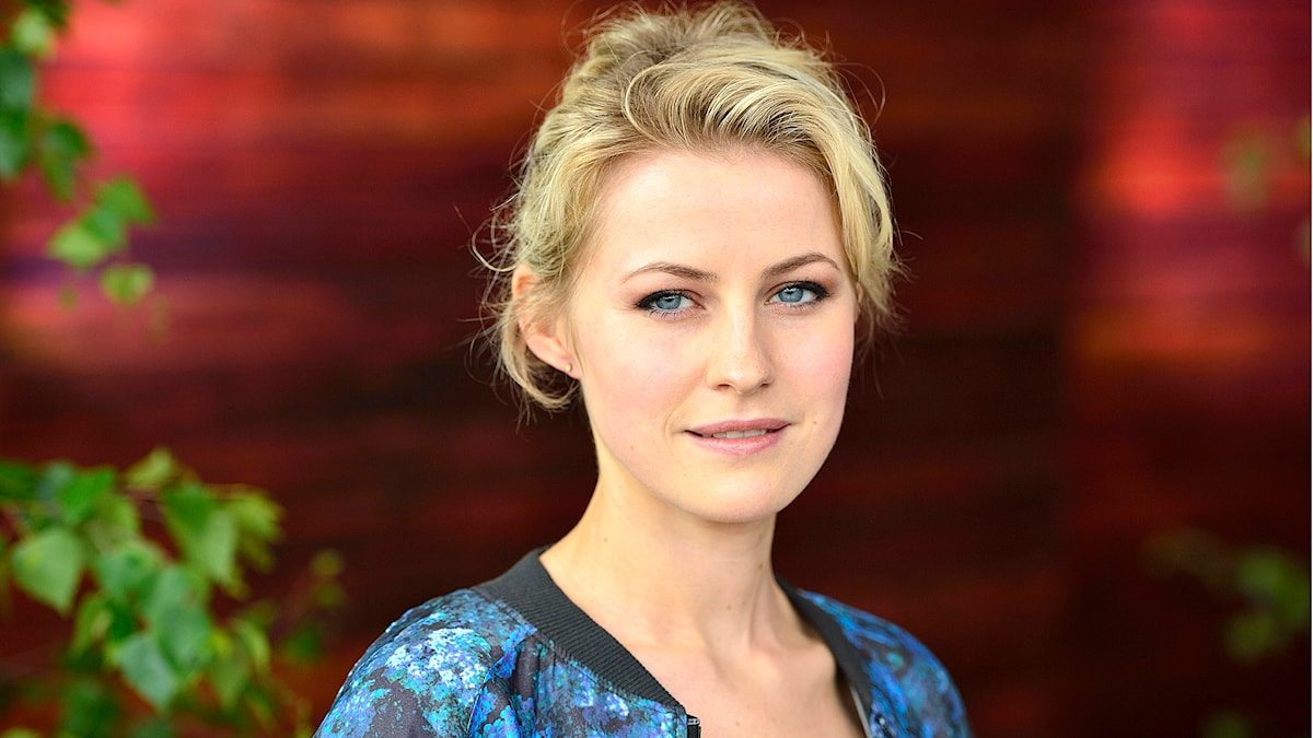 Edda Magnason. Foto: Henrik Montgomery / SCANPIX /TT Nyhetsbyrån