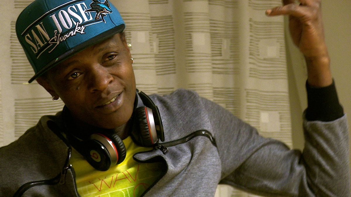 Jose Chameleone, Uganda, en av de östafrikanska artisterna i Radio Brazzaville. Foto: Daniel Jadama.