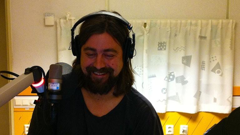 Goran Kajfes i studio 11, Radiohuset