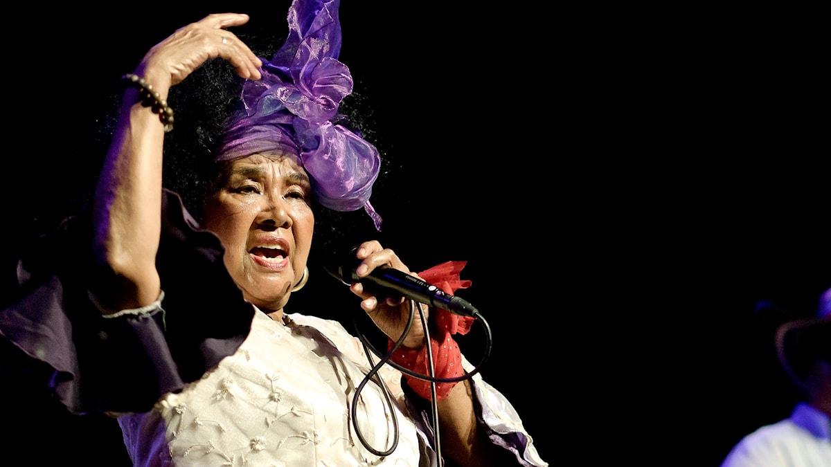 Totó la Momposina sjunger. Foto: Dani Alvarez/Flickr