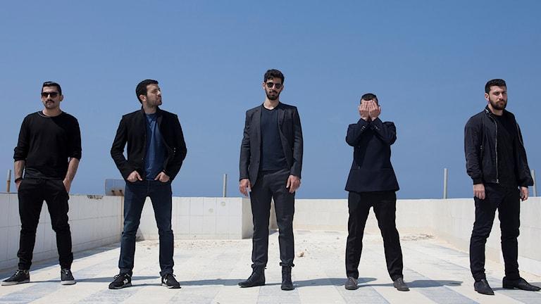 Libanesiska bandet Mashrou Leila. Pressfoto