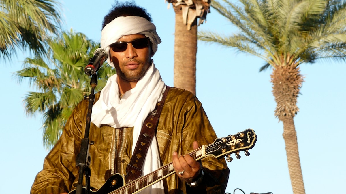 Musiker i bandet Tinariwen