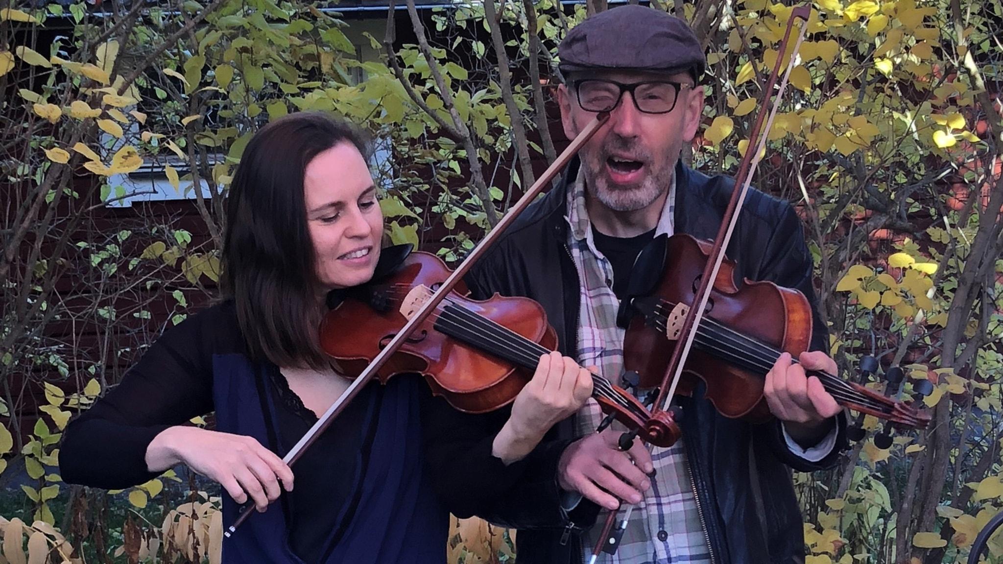 KONSERT: Ny spelmansmusik med Duo Disparat