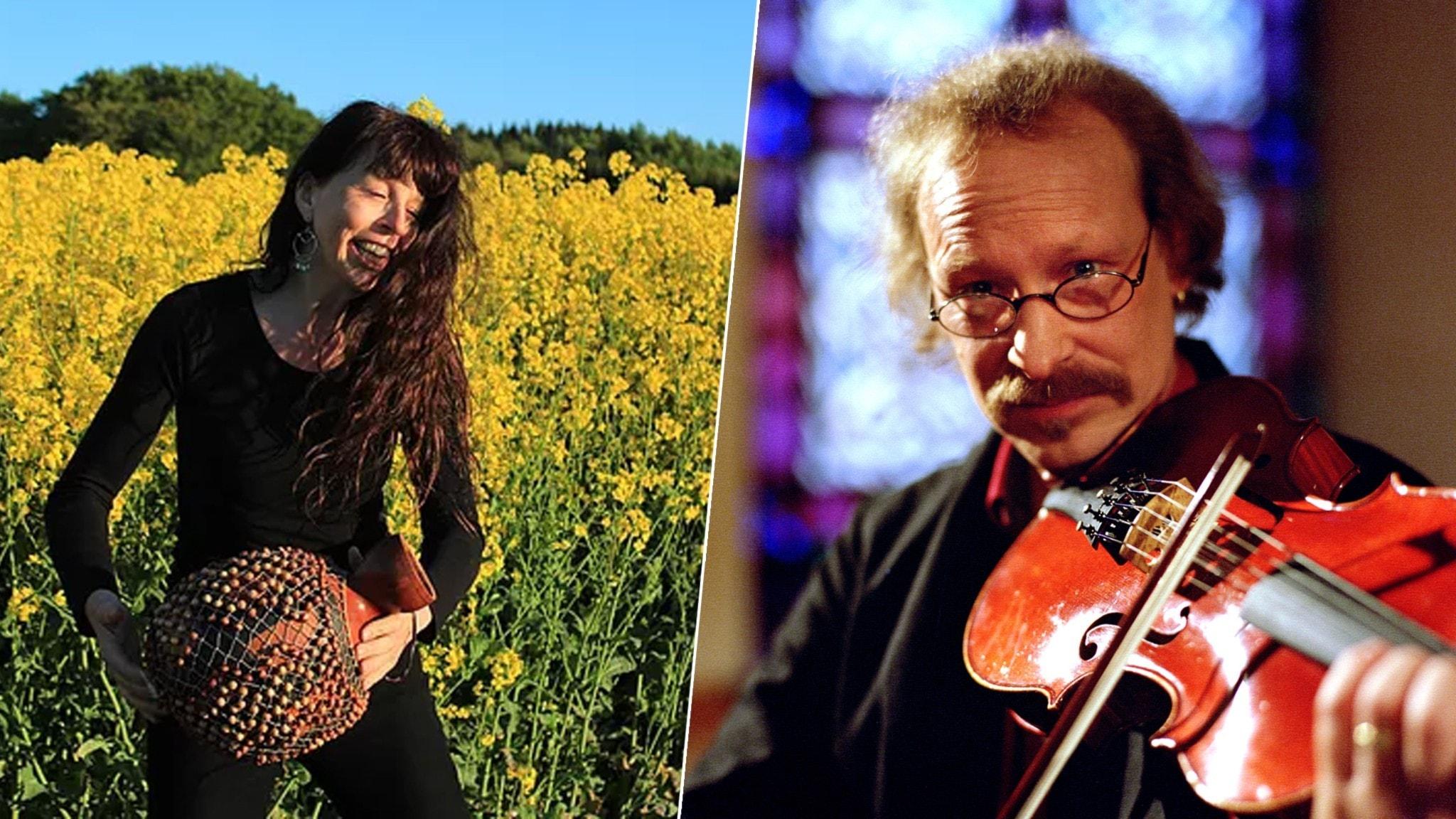 KONSERT: Kärleksfiol och berimbau med Mats Edén och Tina Quartey