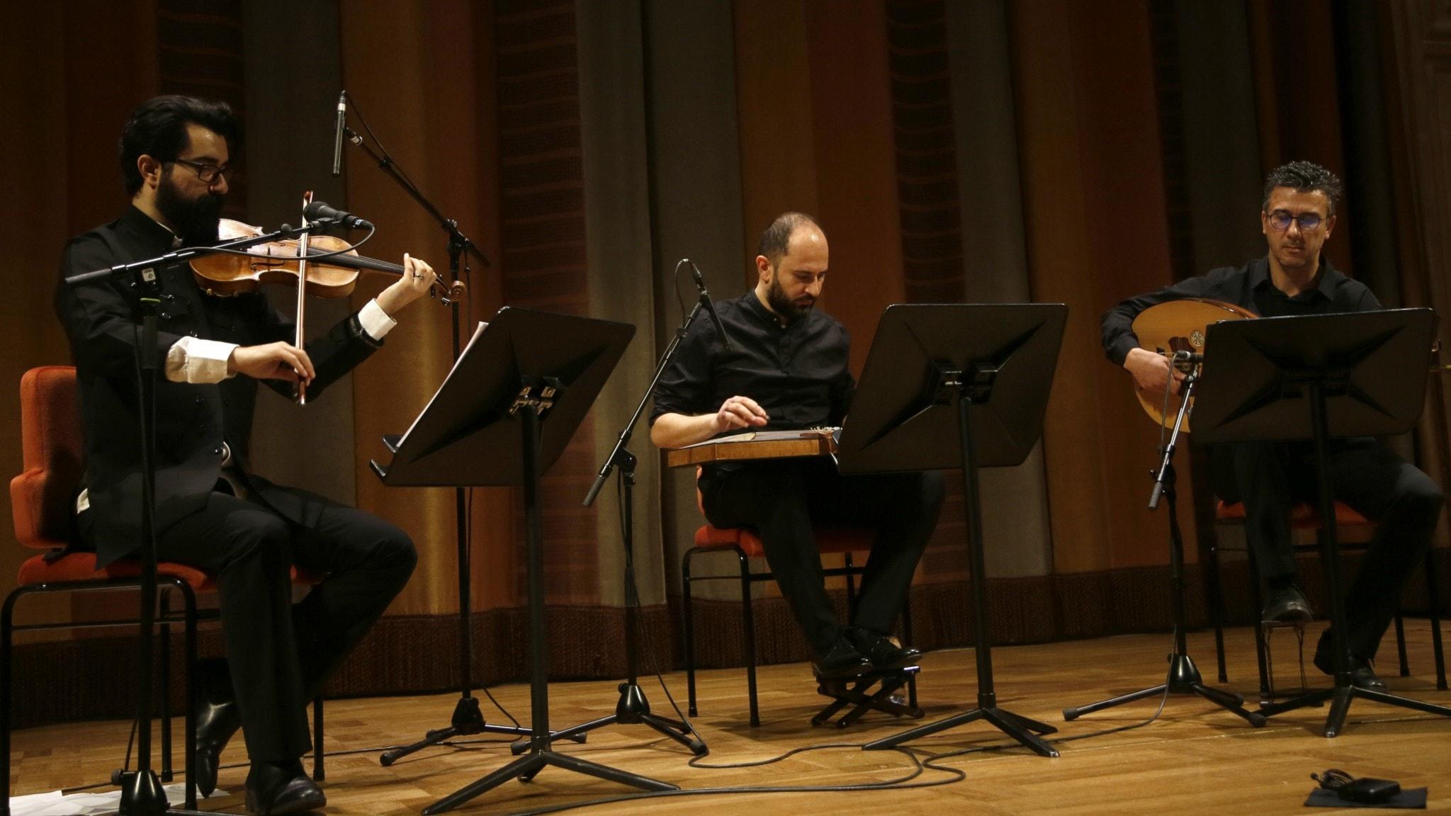 KONSERT: Orientalisk kammarmusik med Sada trio
