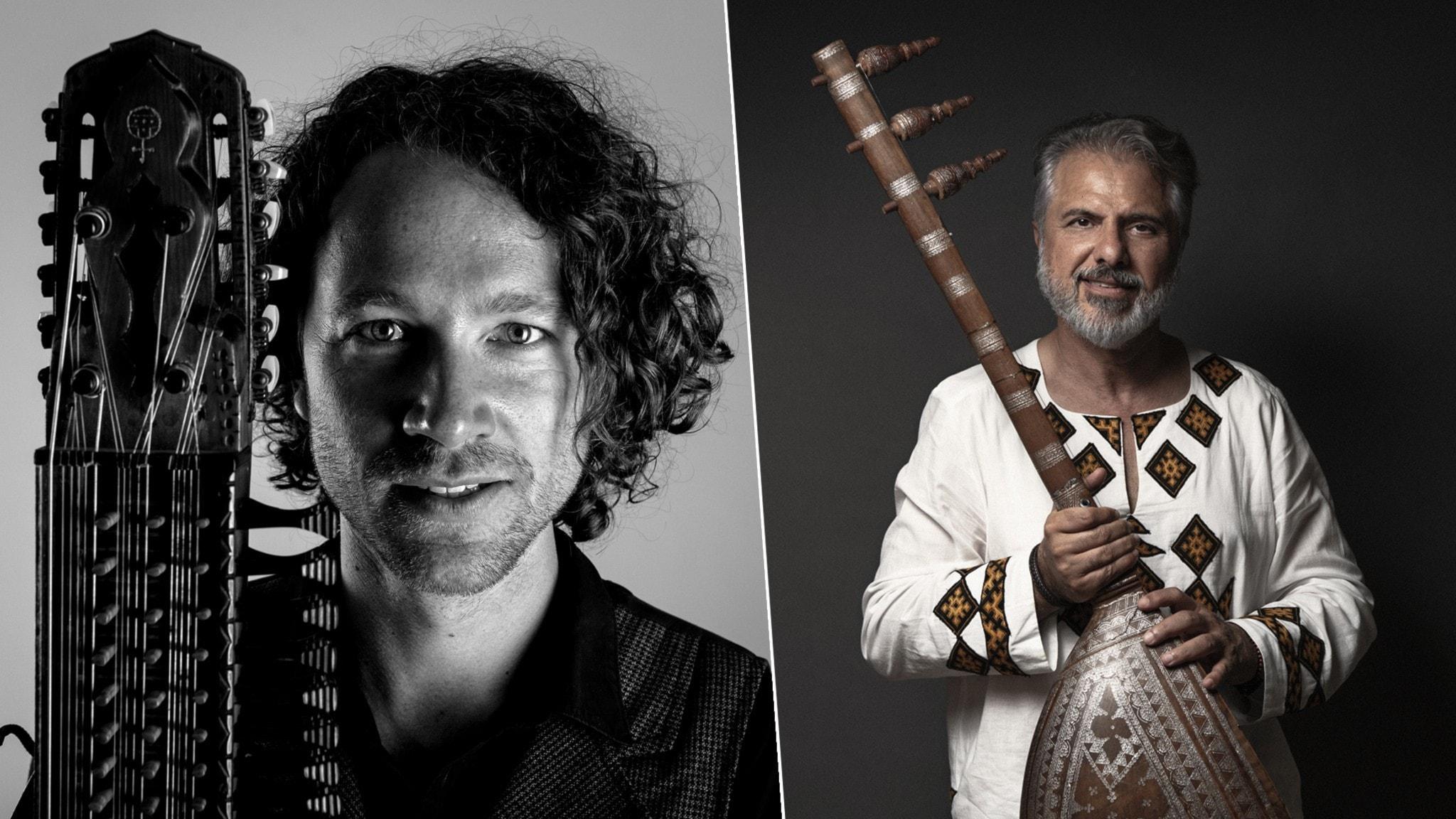 Bild: Erik Rydvall och Rostam Mirlashari.