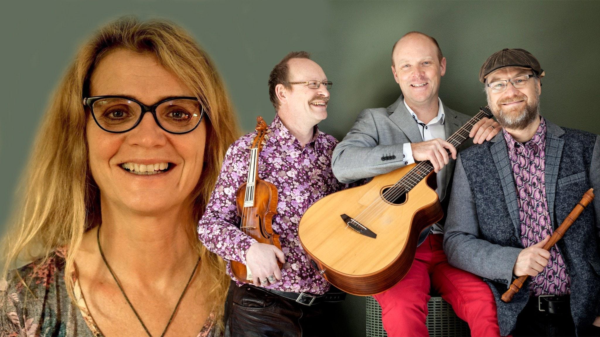 Bild: Ingrid Brännström och Crane Dance Trio.