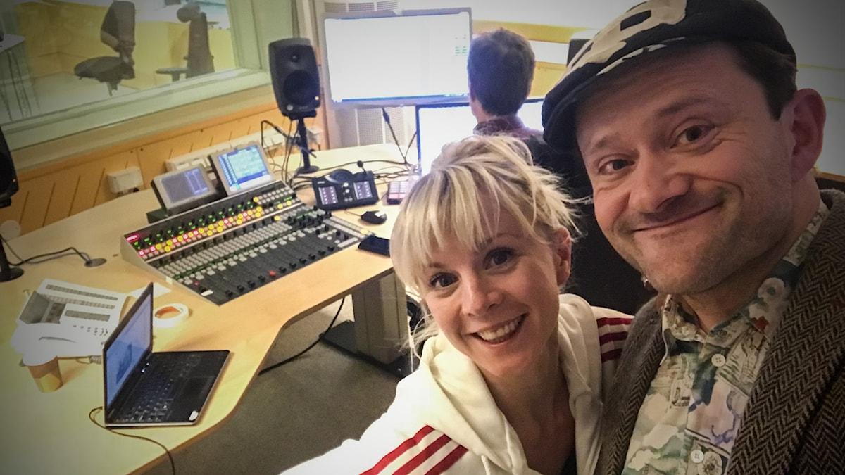 Esmeralda Moberg och Petter Berndalen