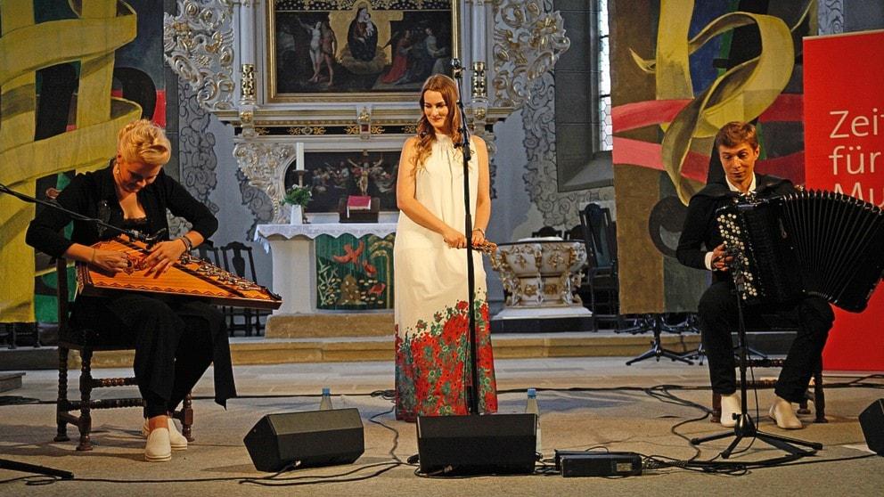KONSERT: Svidande vacker rysk folkmusik med Orpheus Trio