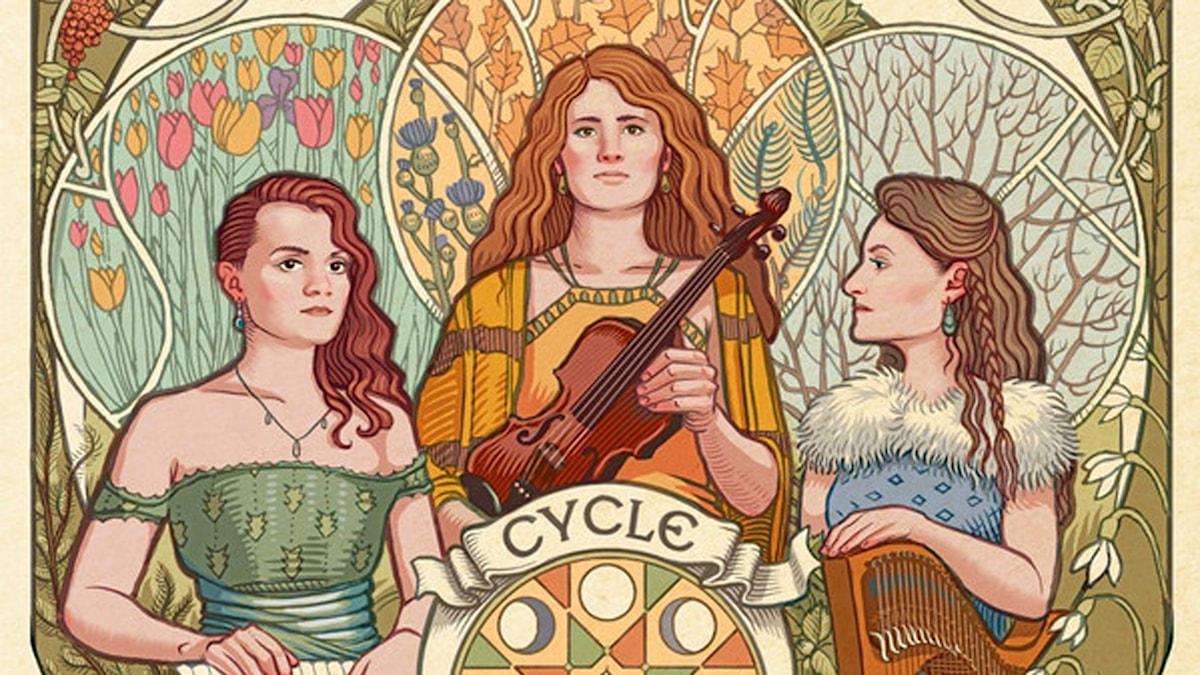 Lady Maisery. CD-omslag Cycle